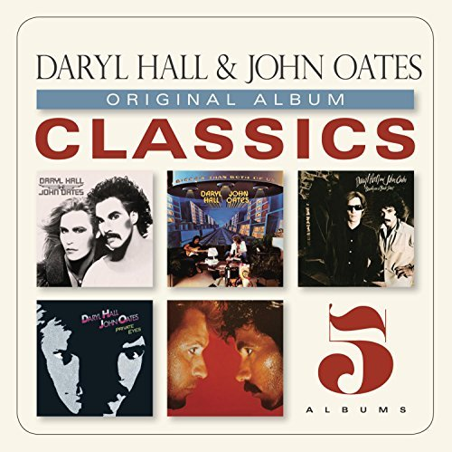 Daryl & John Oates Hall Original Album Classics Slipcase 5 CD