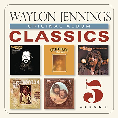 Waylon Jennings Original Album Classics Slipcase 5 CD