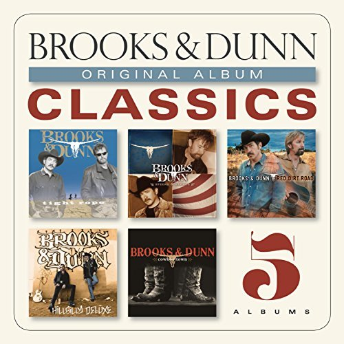 Brooks & Dunn Vol. 1 Original Album Classics Slipcase 5 CD