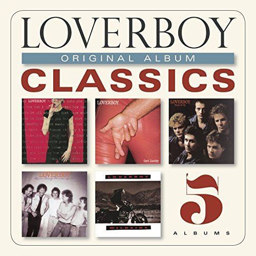 Loverboy Original Album Classics Slipcase 5 CD