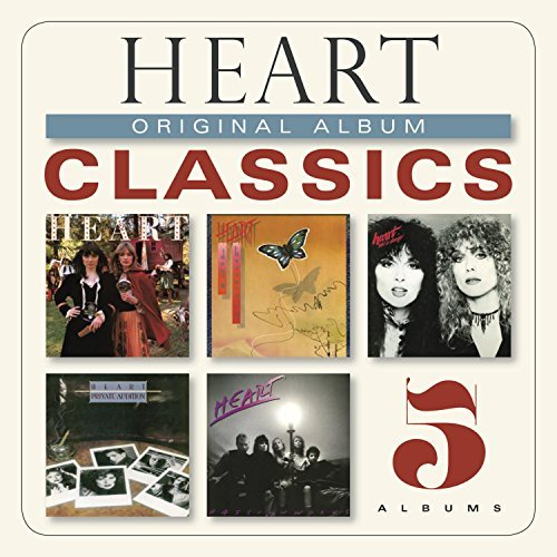 Heart Original Album Classics Slipcase 5 CD