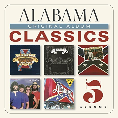 Alabama Original Album Classics Slipcase 5 CD