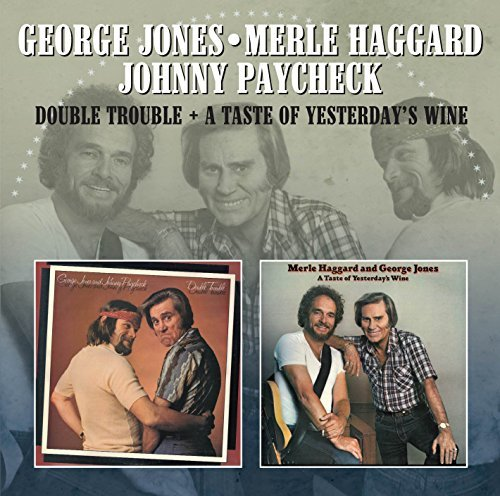Jones George Merle Haggard & J Double Trouble A Taste Of Yest Import Gbr
