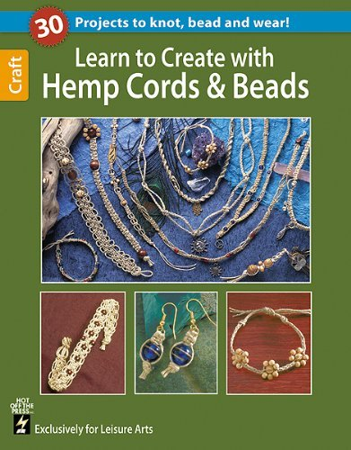 Leisure Arts Learn To Create With Hemp Cord & Beads