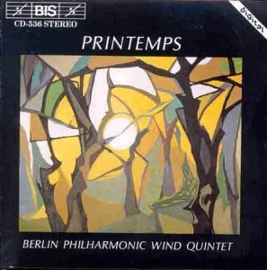 Berlin Philharmonic Wind Quint Printemps Berlin Phil Wind Qnt