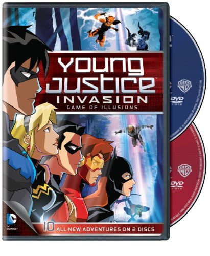 Young Justice Season 2 Part 2 Game Of Illusions Nr 2 DVD