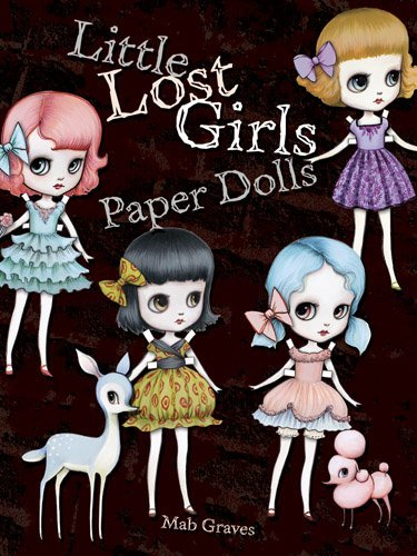 Mab Graves Little Lost Girls Paper Dolls
