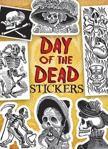 Dover Publications Inc Day Of The Dead Stickers [with Sticker(s)]