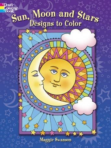 Maggie Swanson Sun Moon And Stars Designs To Color
