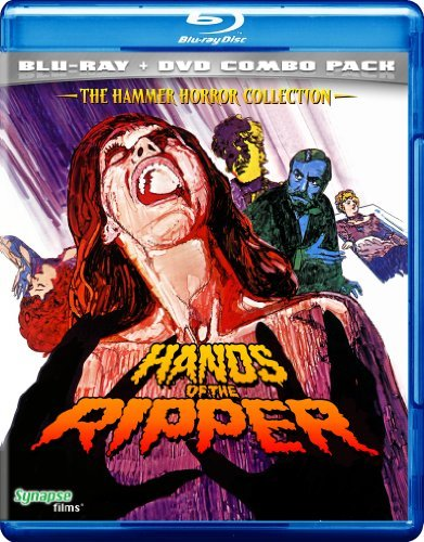 Hands Of The Ripper Porter Rees Merrow Bell Blu Ray Ws Nr Incl. DVD