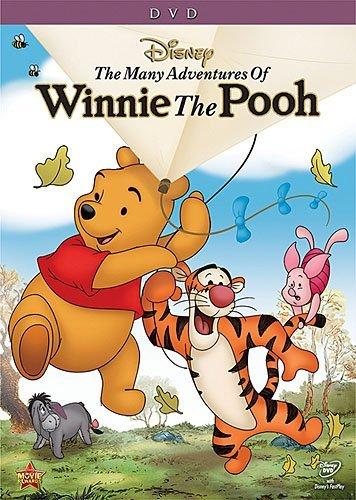Many Adventures Of Winnie The Pooh Disney DVD G Spepcial Ed.