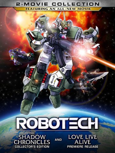 Robotech 2 Movie Collection Robotech 2 Movie Collection Ws Pg