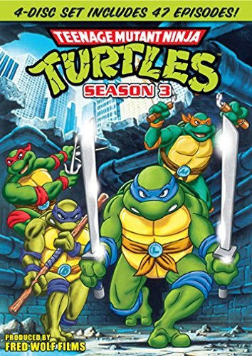 Season 3 Teenage Mutant Ninja Turtles DVD Nr