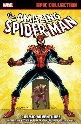 Stan Lee Amazing Spider Man Epic Collection Cosmic Adventures