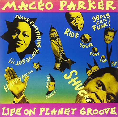 Maceo Parker Life On Planet Groove Gatefold Lp Jacket