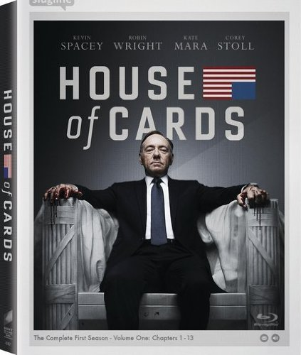 House Of Cards Season 1 Blu Ray