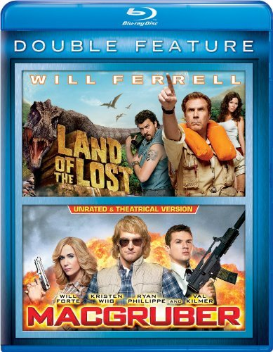 Land Of The Lost Macgruber Double Feature Blu Ray Nr