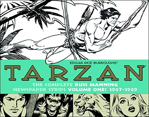 Russ Manning Tarzan The Complete Russ Manning Newspaper Strips Volum