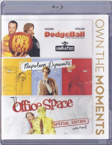 Dodgeball Napoleon Dynamite Office Space Triple Feature