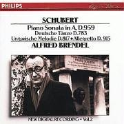 F. Schubert Pno Son In A D959 German Dances D783 Brendel Alfred