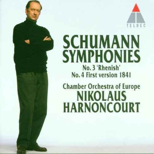 Robert Schumann Sym 3 Rhenish Sym 4 (first Version 1841) Harnoncourt Nikolaus