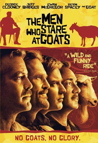 Men Who Stare At Goats Clooney Mcgregor Spacey Bridge