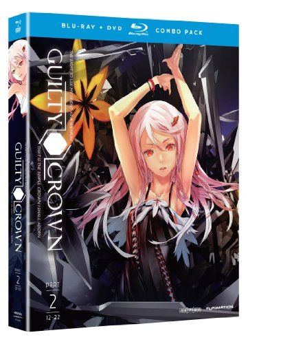 Complete Series Pt. 2 Guilty Crown Blu Ray Ws Tv14 2 DVD 2 Br