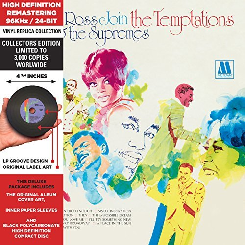 Diana & The Supremes Ross Join The Temptations Remastered Lmtd Ed.