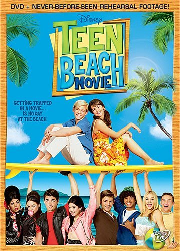 Teen Beach Movie Lynch Mitchell Phipps Clayton DVD G Ws