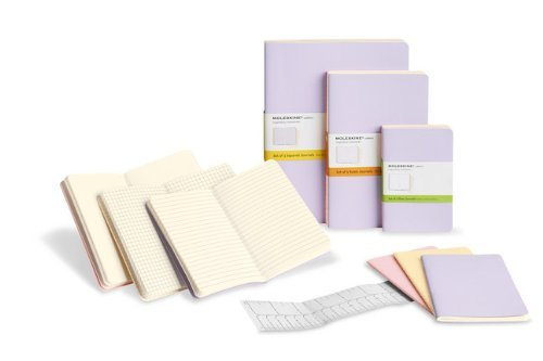 Moleskine Moleskine Cahier Journal (set Of 3) Large Ruled
