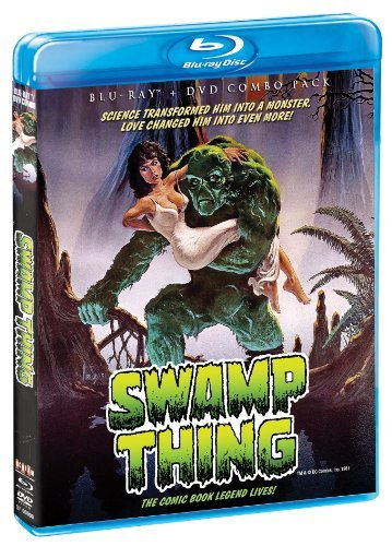 Swamp Thing Barbeau Jordan Wise Blu Ray DVD Pg