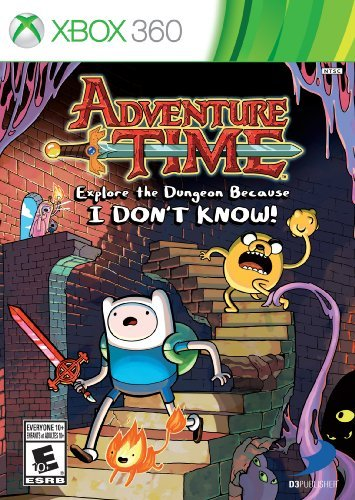 Xbox 360 Adventure Time Explore The Dungeon Because I Don't Know! D3 Publisher Of America