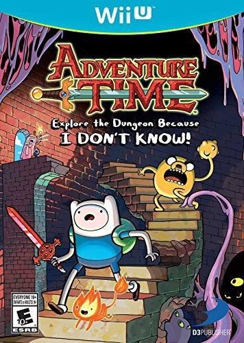 Wii U Adventure Time Explore The Dungeon Because I Don't Know!
