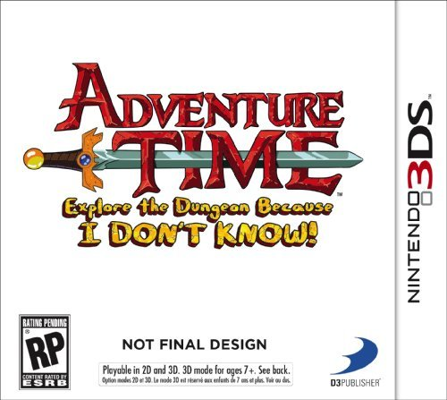 Nintendo 3ds Adventure Time Explore The Dungeon Because I Don't Know! D3 Publisher Of America