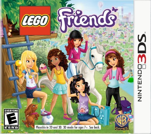 Nintendo 3ds Lego Friends Whv Games E