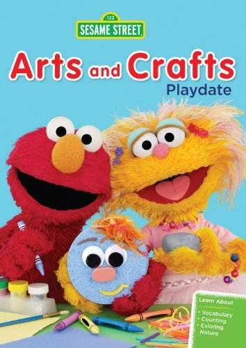 Sesame Street Arts & Crafts Playdate Nr