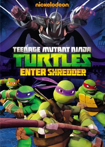 Teenage Mutant Ninja Turtles Enter Shredder DVD Nr