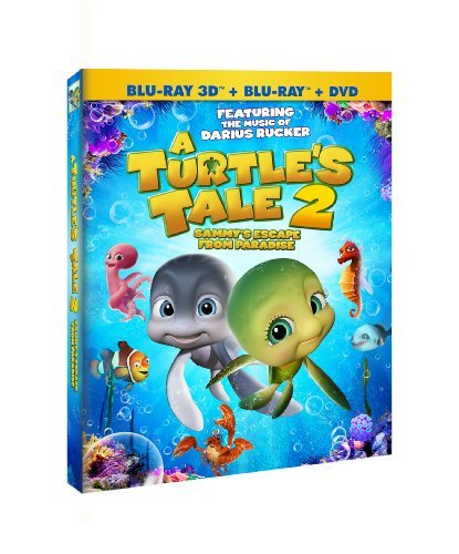 Turtle's Tale 2 Sammy's Escap Turtle's Tale 2 Sammy's Escap Blu Ray Ws Nr 2 DVD