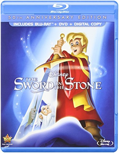 Sword In The Stone Disney Blu Ray DVD Dc G