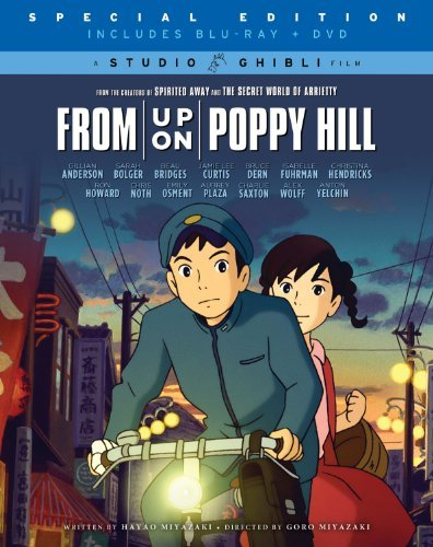 From Up On Poppy Hill Miyazaki Blu Ray DVD Nr