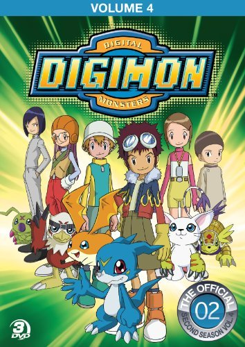 Digimon Adventure Volume 4 DVD