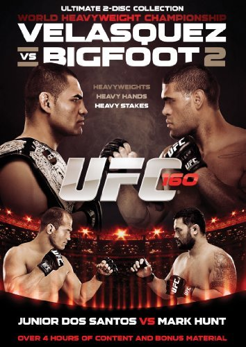 Ufc 160 Velasquez Vs Bigfoot Ufc Ws Nr 2 DVD