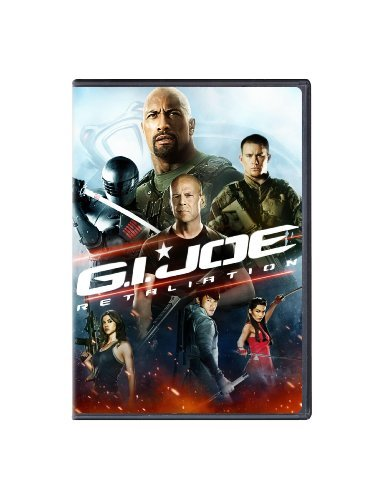 G.I. Joe Retaliation Johnson Tatum Willis DVD Pg13 Ws