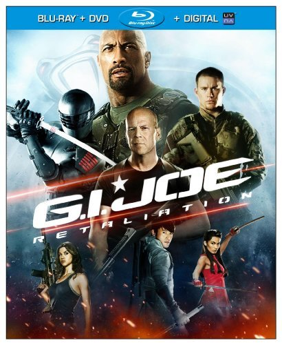 G.I. Joe Retaliation Johnson Tatum Willis Pg13 DVD Dc Uv