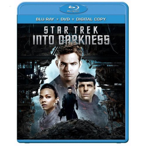 Star Trek Into Darkness Pine Quinto Urban Blu Ray DVD Dc Pg13