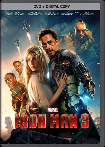 Iron Man 3 Downey Paltrow Cheadle Pearce DVD Dc Pg13 Ws
