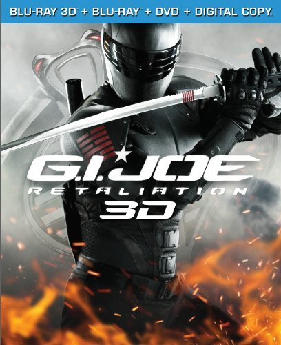 G.I. Joe Retaliation 3d Johnson Tatum Willis Pg13 DVD Dc Uv
