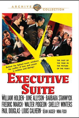 Executive Suite Holden Allyson Stanwyck March DVD Mod This Item Is Made On Demand Could Take 2 3 Weeks For Delivery