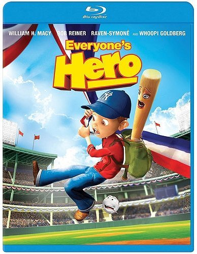 Jake T. Austin William H. Macy Mandy Patinkin Bria Everyone's Hero [blu Ray] Blu Ray