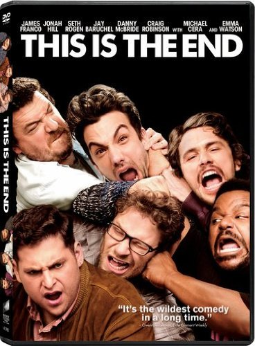 This Is The End Rogen Baruchel Franco DVD Uv Pg13 Ws